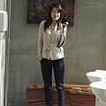 0124 有著大片落地鏡,這麼明亮的餐廳化妝室,我真的很喜歡,它在『藝饌蘭庭』!