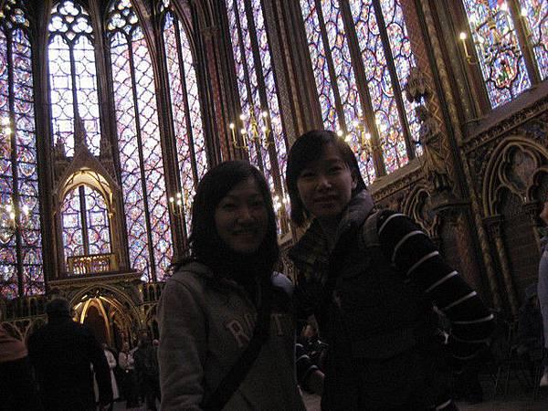 第一張巴黎的合照