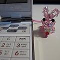 """1/26 今天要記錄一份受感動的心情,""""水晶兔""""是客人親手編給我的,感謝劉太太給我兔年的祝福!"""