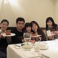 1/29  空班與莨友一家人享用自家下午茶,可惜我的身體狀況不佳,吃的很少