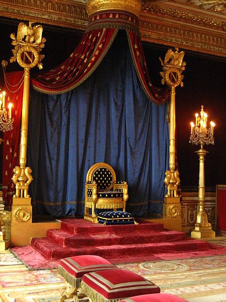 加冕用的王座