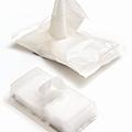 MUJI的去光水棉片,和嬌生卸妝溼紙巾