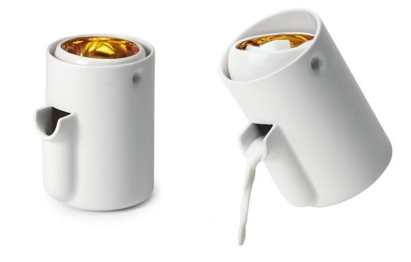 旋轉糖奶罐 金底