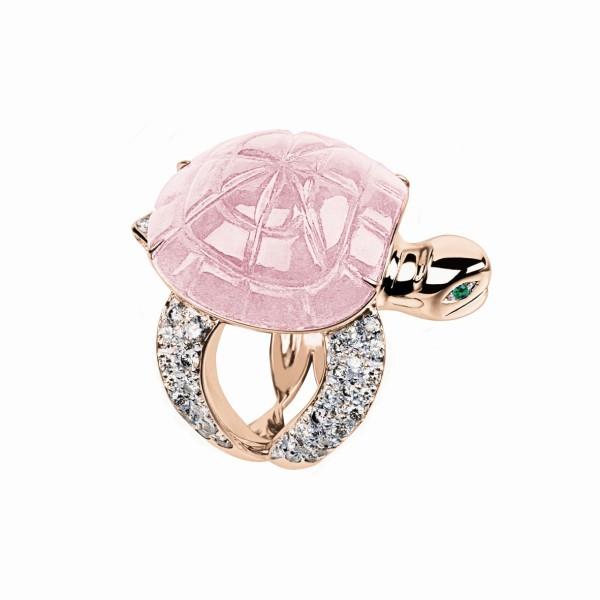Boucheron的動物設計戒指