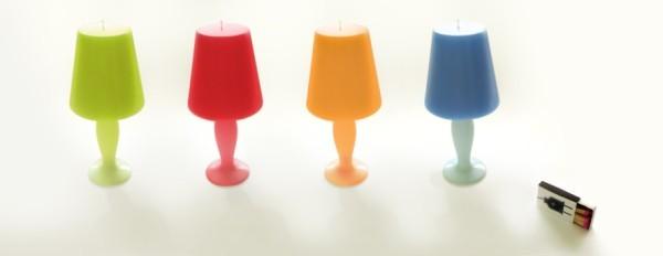 檯燈造型香氛蠟燭