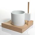 Farbor Design檜木陶瓷杯