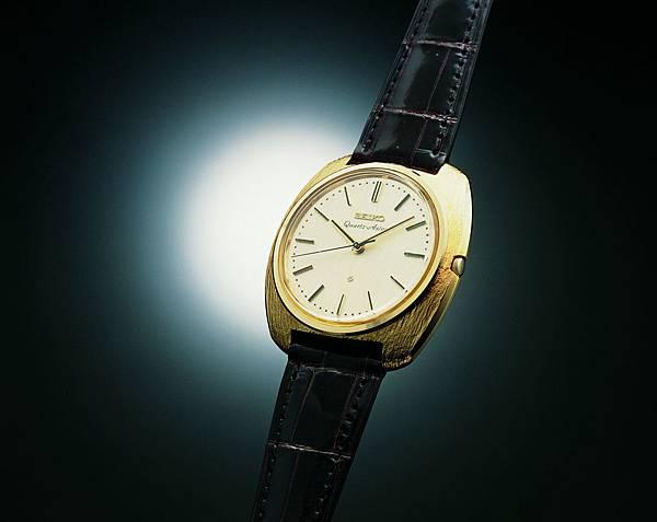 當精工在 1969 年推出第一款石英錶 Astron時,改變了計時的歷史。.jpg