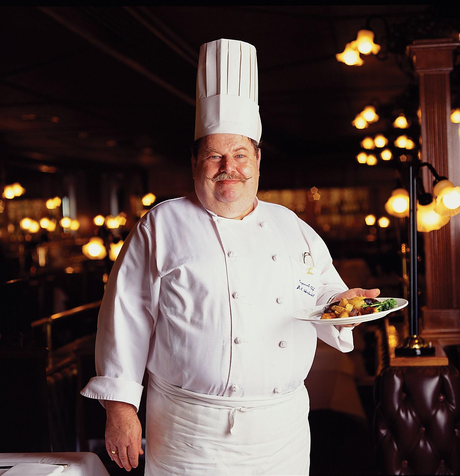 亞都麗緻大飯店巴賽麗廳客座主廚Chef Jean-Claude Herchembert