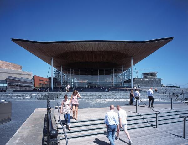 卡地夫威爾斯國會大廈  National Assembly for Wales - 1.jpg