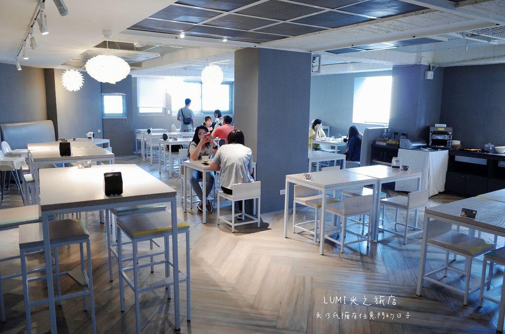 台中光之旅店早餐Lumi Hotel