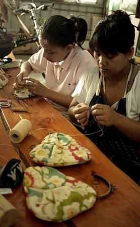 台東部落手工縫製