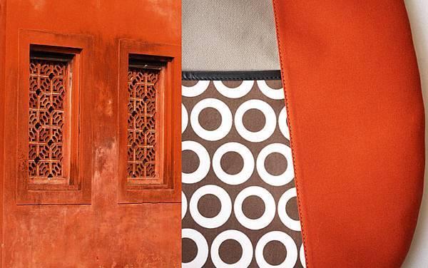 皮諾丘與赤崁樓橘色