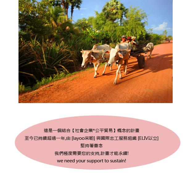 柬埔寨社會企業愛心包包