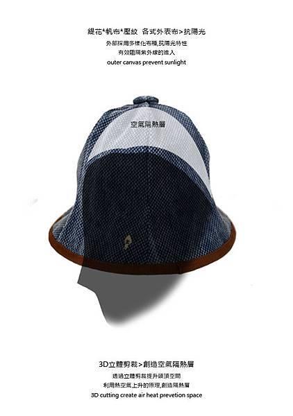 【漁夫帽】防風抗UV fisherman hat