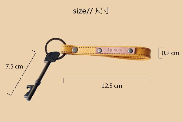 key chain6真皮鑰匙圈
