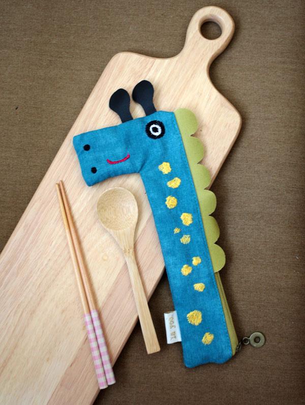 girafee1長頸鹿可愛筆袋筷套