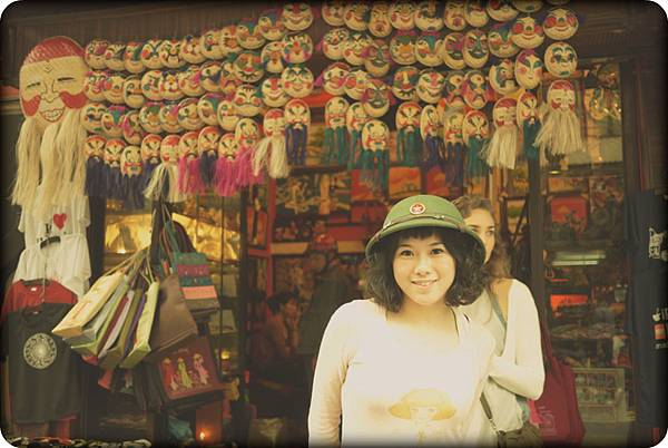 越南偶面具