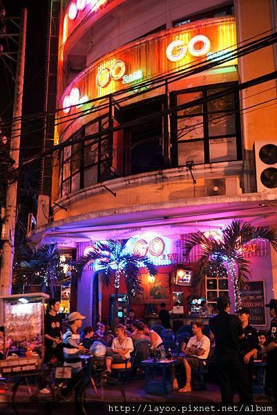 西貢街頭二