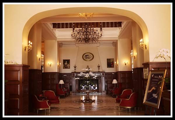 dalat palace 飯店大廳