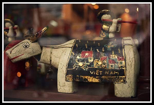 越南水上木偶小牛