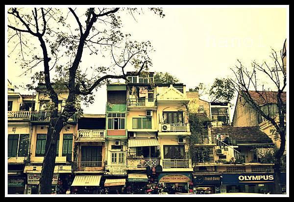 河內典型街景