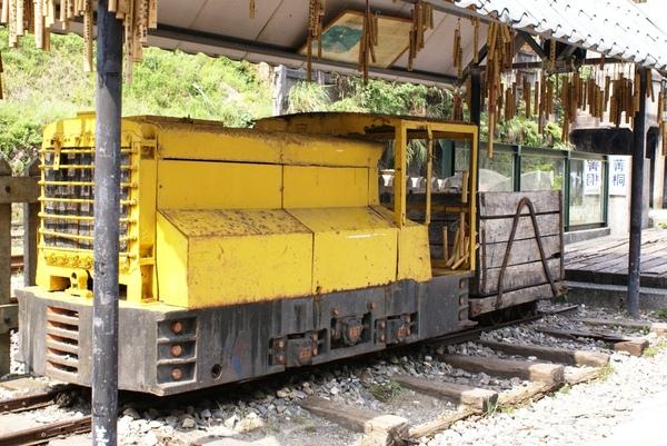 古老的運煤火車頭