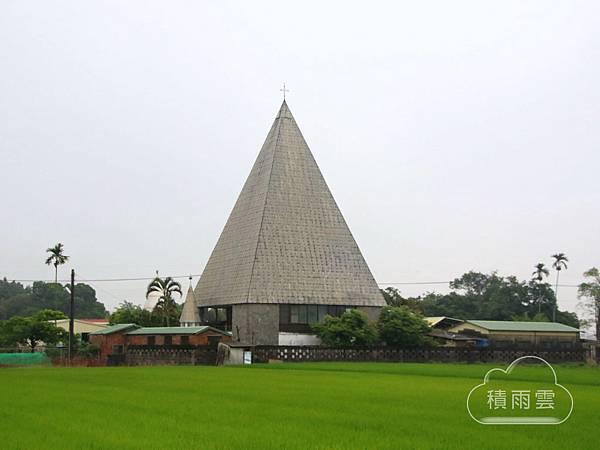 台南後壁菁寮天主教聖十字架教堂