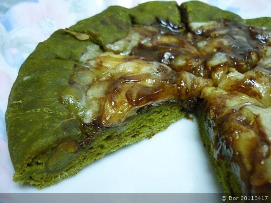 Bor20110417_地瓜芝心~巧克力香蕉抹茶Pizza(平底鍋)_550.jpg