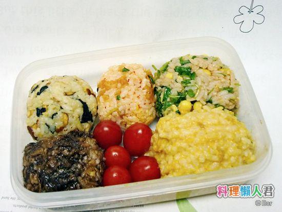 Bor20120713_甘甜鹹嗆辣五味丸飯糰_550
