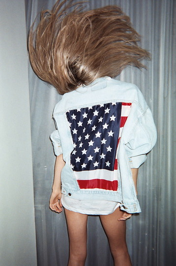 Designer: Nicole Alyse American Flag Jean Jacket From New York, New York.jpeg