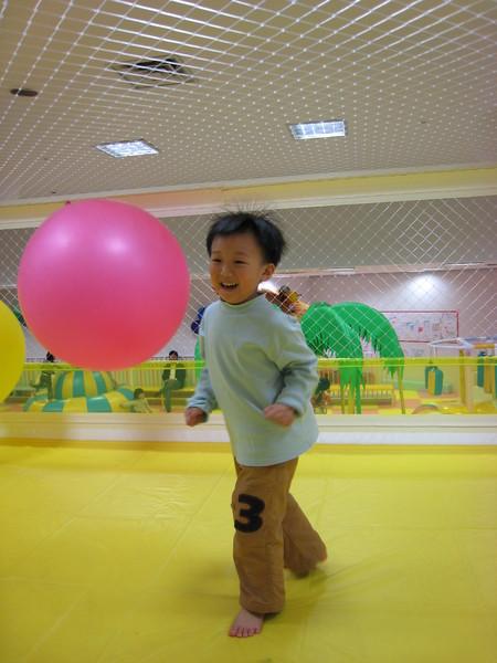 我在博多運河商城的兒童遊戲館