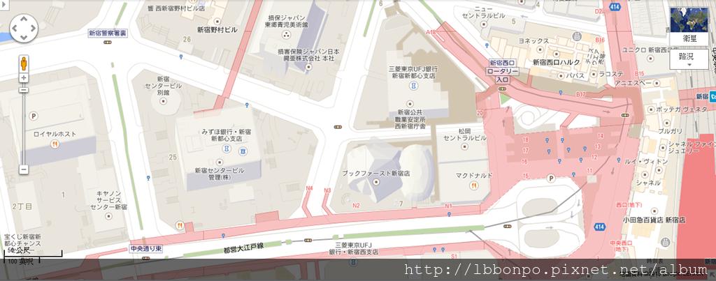 【散步路線】新宿站→東京都廳(地下通道)