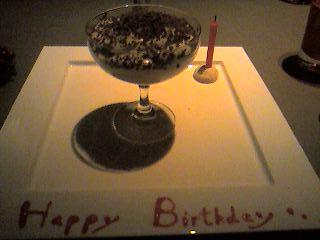 提拉米蘇…我的BIRTHDAY CAKE