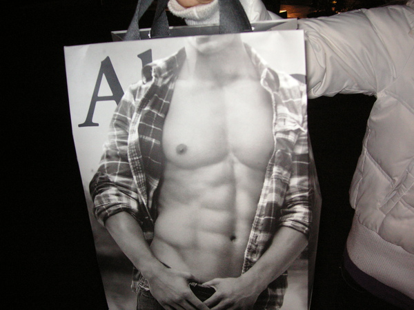 A&F袋子