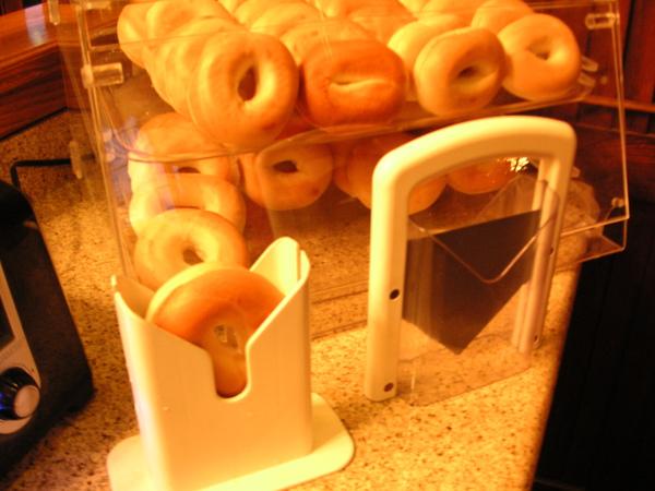 切bagel的機器