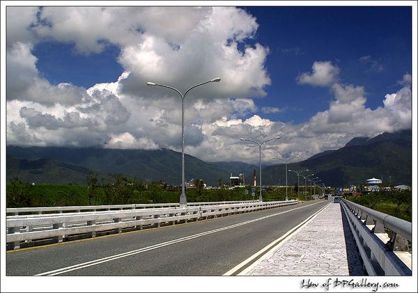 花蓮大橋好天氣
