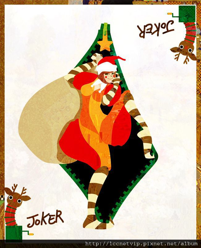 42.hachi_聖誕小丑拉進門.jpg