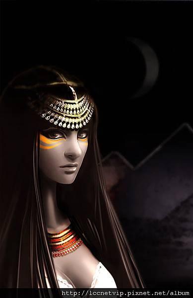 原創畫-埃及公主