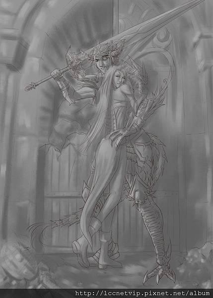 10-1-灰色畫