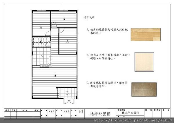 地坪配置圖