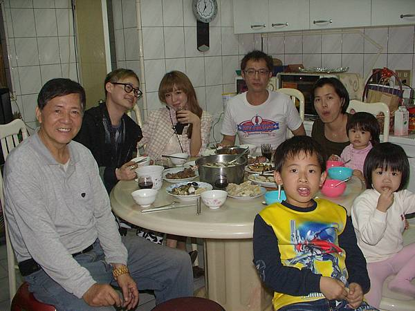團圓飯與台南都會公園2014.2.2 003