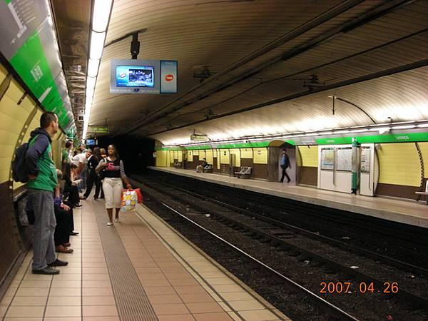 地鐵站-ㄧ戰時期開始動工