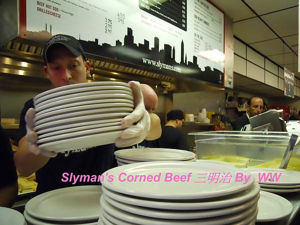 Slyman's  Corned Beef 三明治