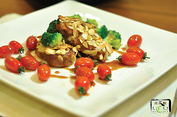 Honey Almond Pork Chop