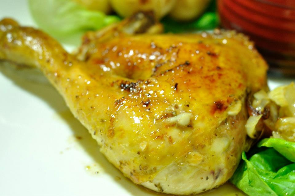 roasted quarter chicken