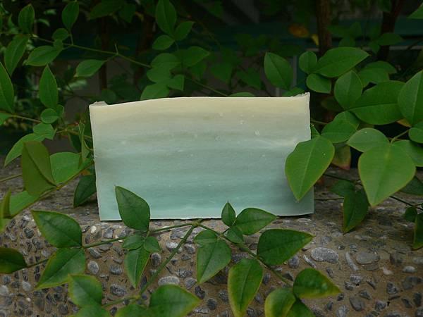 綠世界分層皂