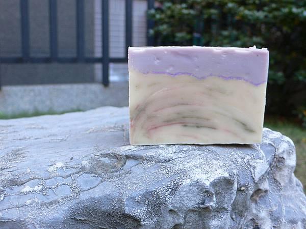 紫草酪梨分層皂