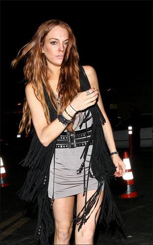 琳賽蘿涵(Lindsey Lohan)泡夜店