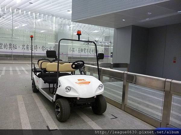 桃園捷運A1高爾夫球車接駁