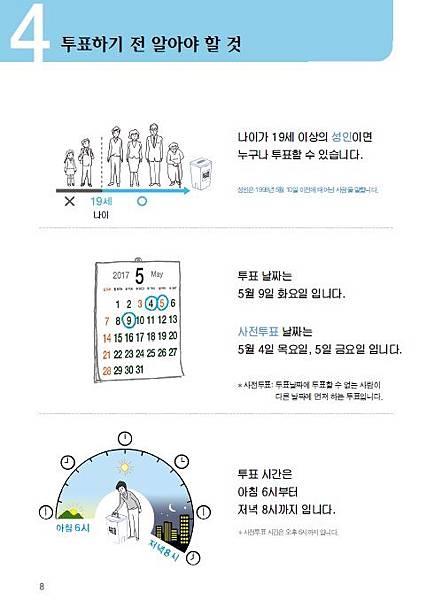 韓國第19屆總統選舉投票手冊(易讀版)內頁-投票前要知道的事